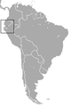 Caenolestes condorensis area.png
