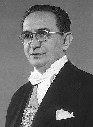 Café Filho - President Café Filho in 1954