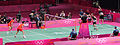 Cai Yun and Fu Haifeng vs. Mathias Boe and Carsten Mogensen In The Mens Doubles Badminton Final (8172623247).jpg