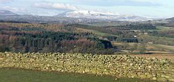 Caldbeck Fells, West of Penrith, viewed from Culgaith.JPG