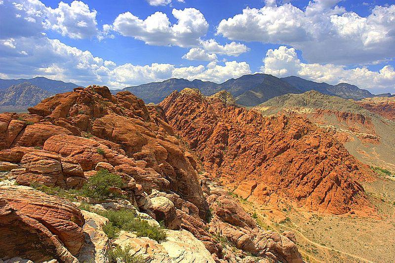 File:Calico basin red rock cumulus mediocris.jpg