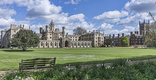 Cambridge - St John College - New Court