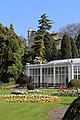 Camelia House and Hall from the southwest at Wollaton Hall, Nottingham, England.jpg