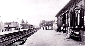 Birmingham and Gloucester Railway - Camp Hill station