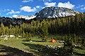 Camping in the High Sierras. Yosemite National Park, California (26436667192).jpg