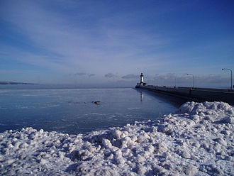 Canal Park, Duluth - Lighthouse pier