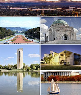 Canberra capital city of Australia