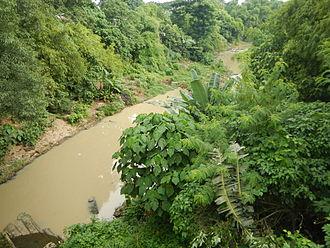 Candelaria, Quezon - Taguan River (bridge)