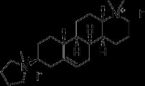 Candocuronium iodide - Image: Candocuronium iodide