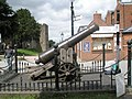 Cannon outside Ludlow Castle August 2009 - geograph.org.uk - 1466870.jpg