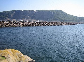 Canso Causeway - Canso Causeway from Cape Breton Island