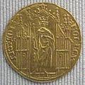 Capetingi, carlo IV il bello, reale d'oro, 1322-1328.JPG