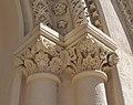 Capitells de la portalada de l'església de la Mare de Déu del Puig de València.JPG