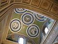 Cappella del cardinale di portogallo 07 tondi di luca della robbia e affreschi di alesso baldovinetti 03.JPG