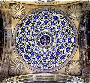 Pazzi Chapel - Dome in the porch