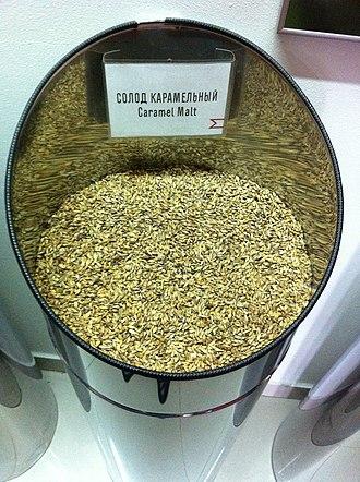 Malting process - Caramel malt