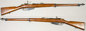 Carcano - Carcano Modello 1891 infantry rifle