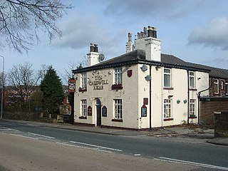 Heath Charnock village in the United Kingdom