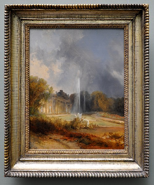 File:Carl Georg Anton Graeb Schloss Sanssouci c1843-45 with frame.jpg