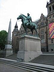 Karl X Gustavs ryttarstaty, Stockholm