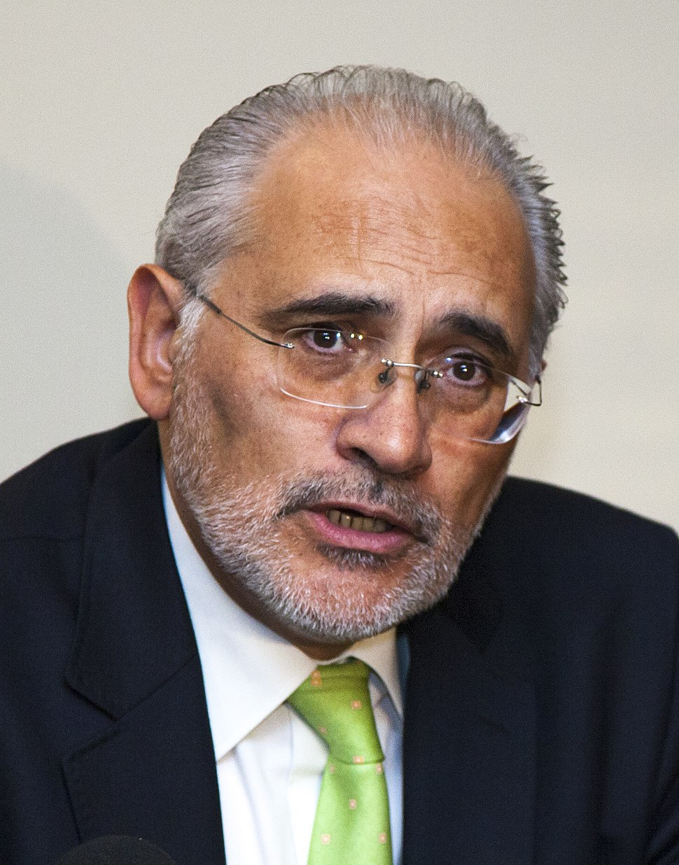 Carlos Mesa, ex-President of Bolivia (cropped)