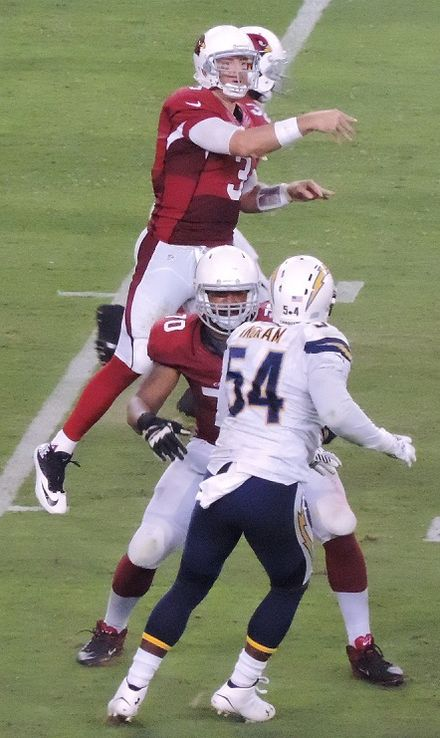 Palmer in 2014 vs. the Chargers Carson Palmer 2014.jpg