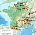 Carte du tracé du tour de France 2012.jpg
