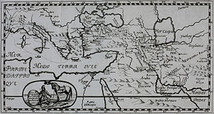 Ottoman–Safavid relations - Persian and Ottoman Empire in 1661
