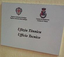 Sardinian language - Wikipedia