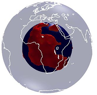 Large low-shear-velocity provinces - Cartoon of the African LLSVP