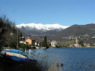 Caslano - Caslano village