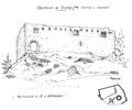 Castello suzey dis nigra su d'andrade fronte ovest e pianta.tiff
