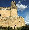 Castillo nuevo de Manzanares el Real - West tower.JPG
