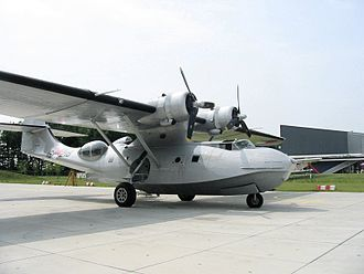 Aviodrome - The Catalina at the museum