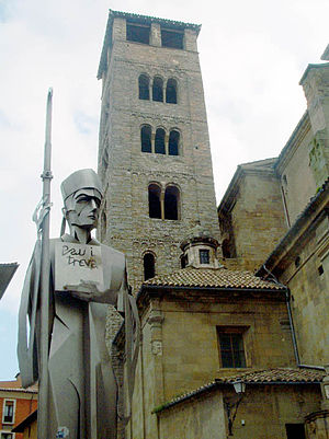 Josep Torras i Bages - The cathedral in Vic, where Josep Torras lived the last part of his life.