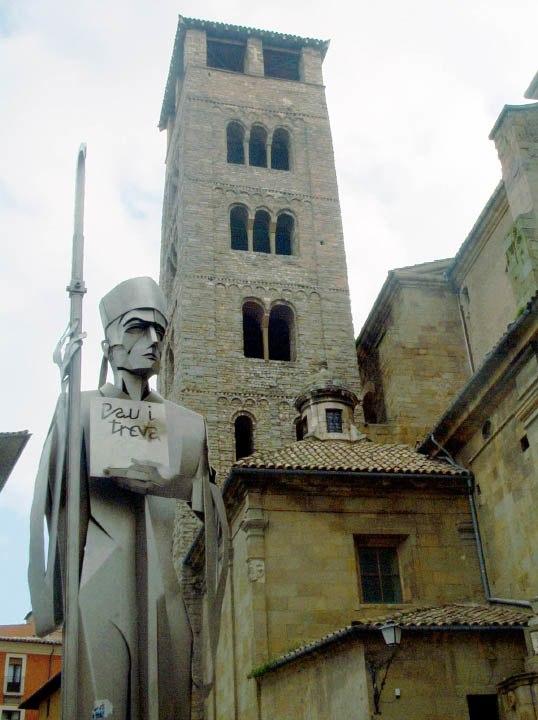 Catalonia-Campanar catedral de Vic, Osona