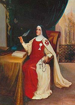 Italienische Ordensgründerin