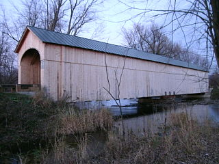 Cedar Swamp Covered Bridge