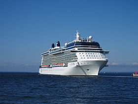 Celebrity Eclipse departing Tallinn 26 June 2011.JPG