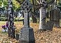 Celtic cross at Glasnevin Cemetery - 122054 (30459043846).jpg