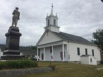 Barnstead, New Hampshire - Center Barnstead in 2018