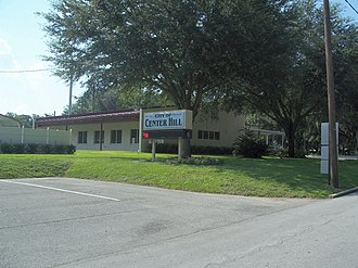 Center Hill, Florida - City hall/police station