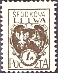 Central Lithuania 1921 MiNr 021A B002.png