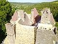 Château de La Faye Périgord - vue des toitures.jpg