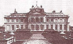 Le château de Petit-Bourg: dernier état avant démolition.