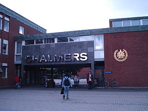 Chalmers University of Technology - the gate of Chalmers(Gibraltar Campus)