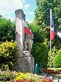 Champagne-sur-Oise (95), monument aux morts, pl. du général de Gaulle.jpg