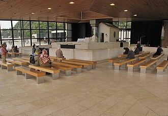 Chapel of the Apparitions - The Chapel of the Apparitions in Cova da Iria (Fátima, Portugal)