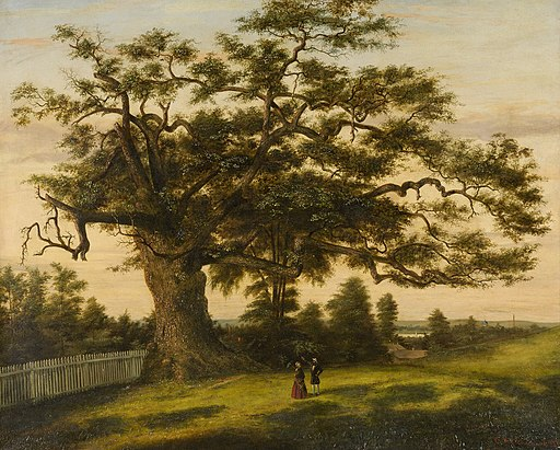 Charles De Wolf Brownell - The Charter Oak, 1857