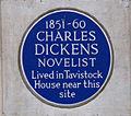 Charles Dickens Plaque (6264119227).jpg
